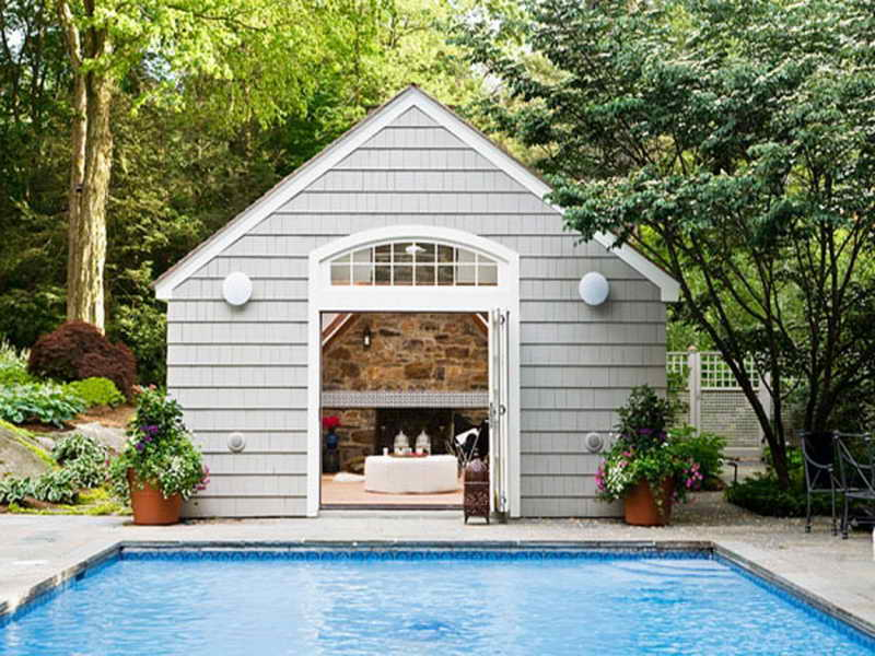 Latest Pool House Design