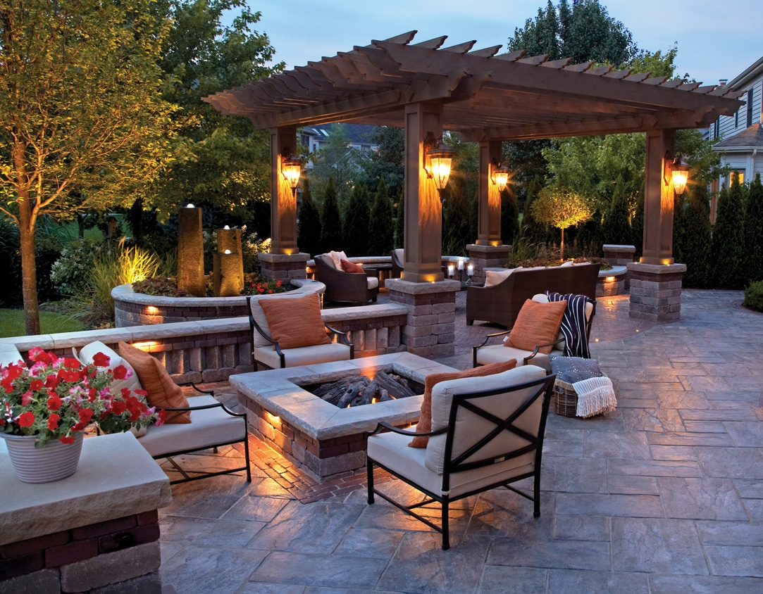 Lighting Outside Patio Idea