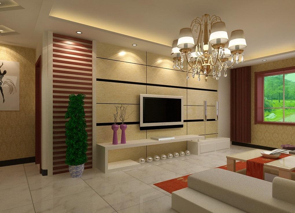 Living Room Wall Art Idea
