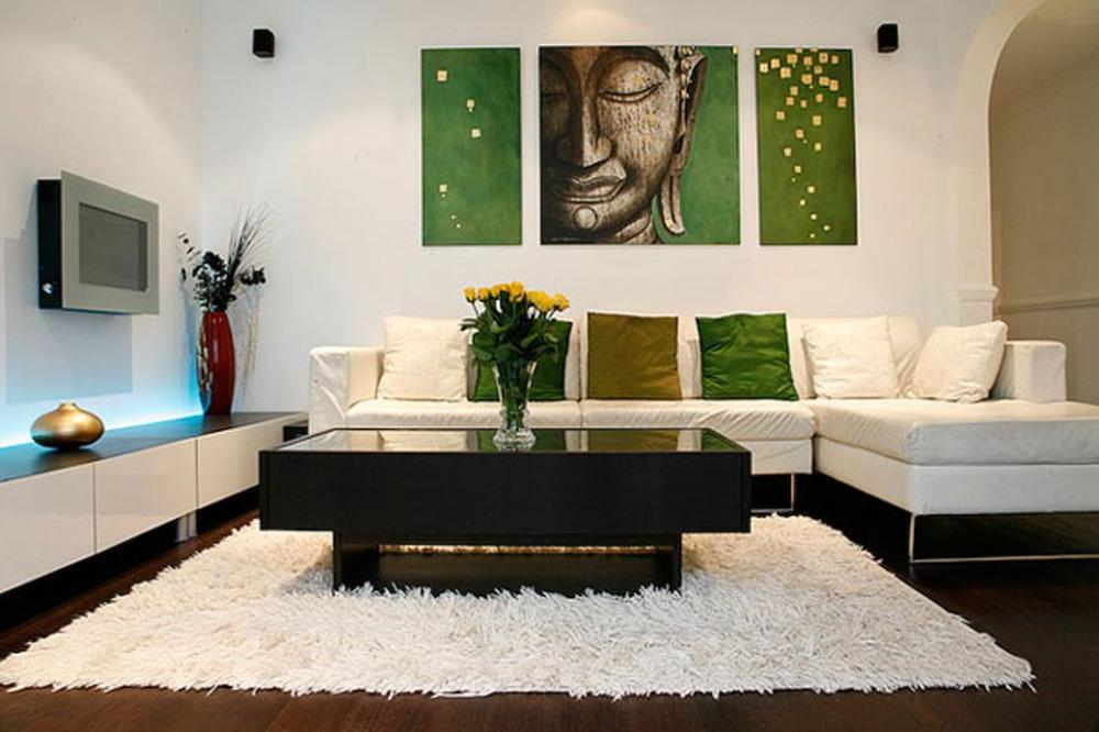 Living Room Wall Decor Layout