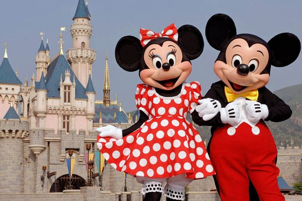 Mickey And Minnie Mouse Image