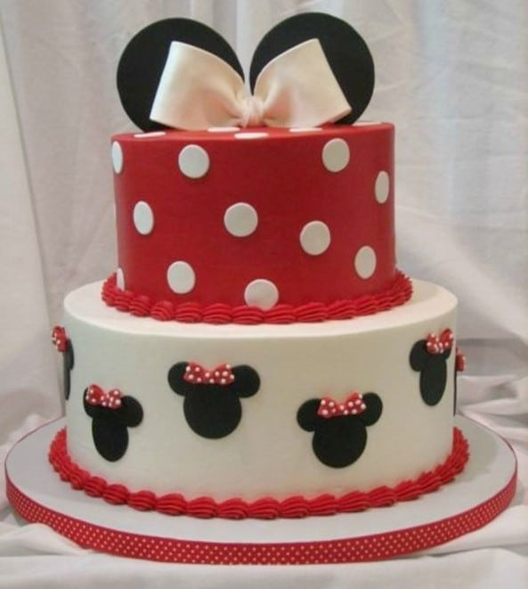 Mickey Mouse Cake Wallpaper