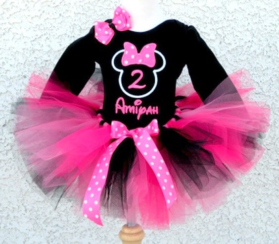 Minnie Mouse Birthday Dress image