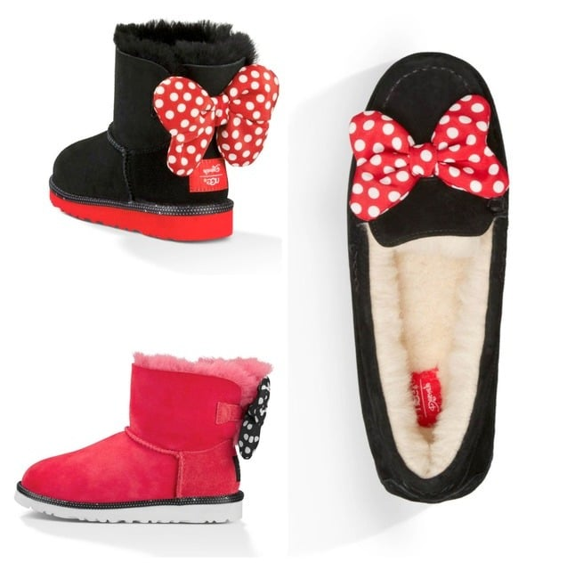 Minnie Mouse Boot Design