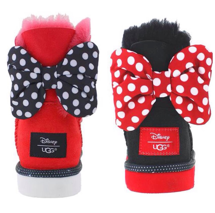 Minnie Mouse Boot Image
