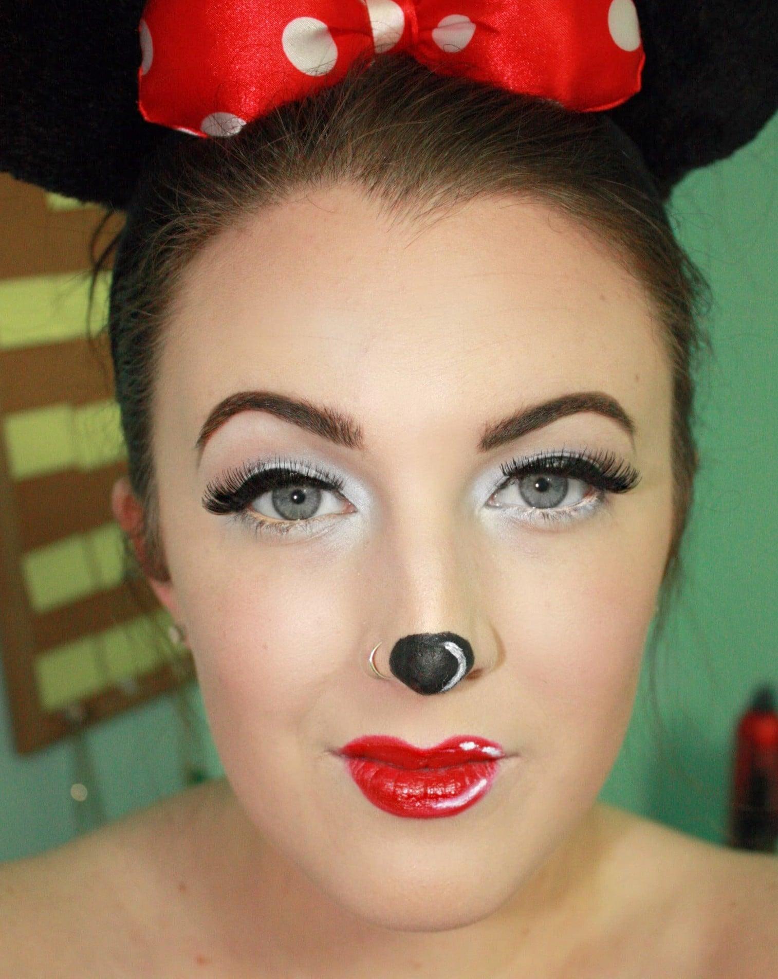 Minnie Mouse Makeup Idea Image