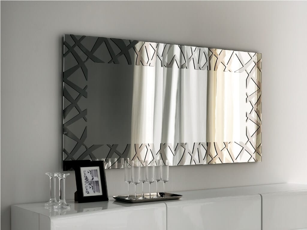 Mirror Wall Decor Layout