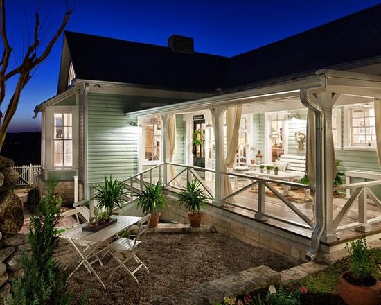 Modern Back Porch