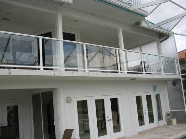 Modern Glass Balcony