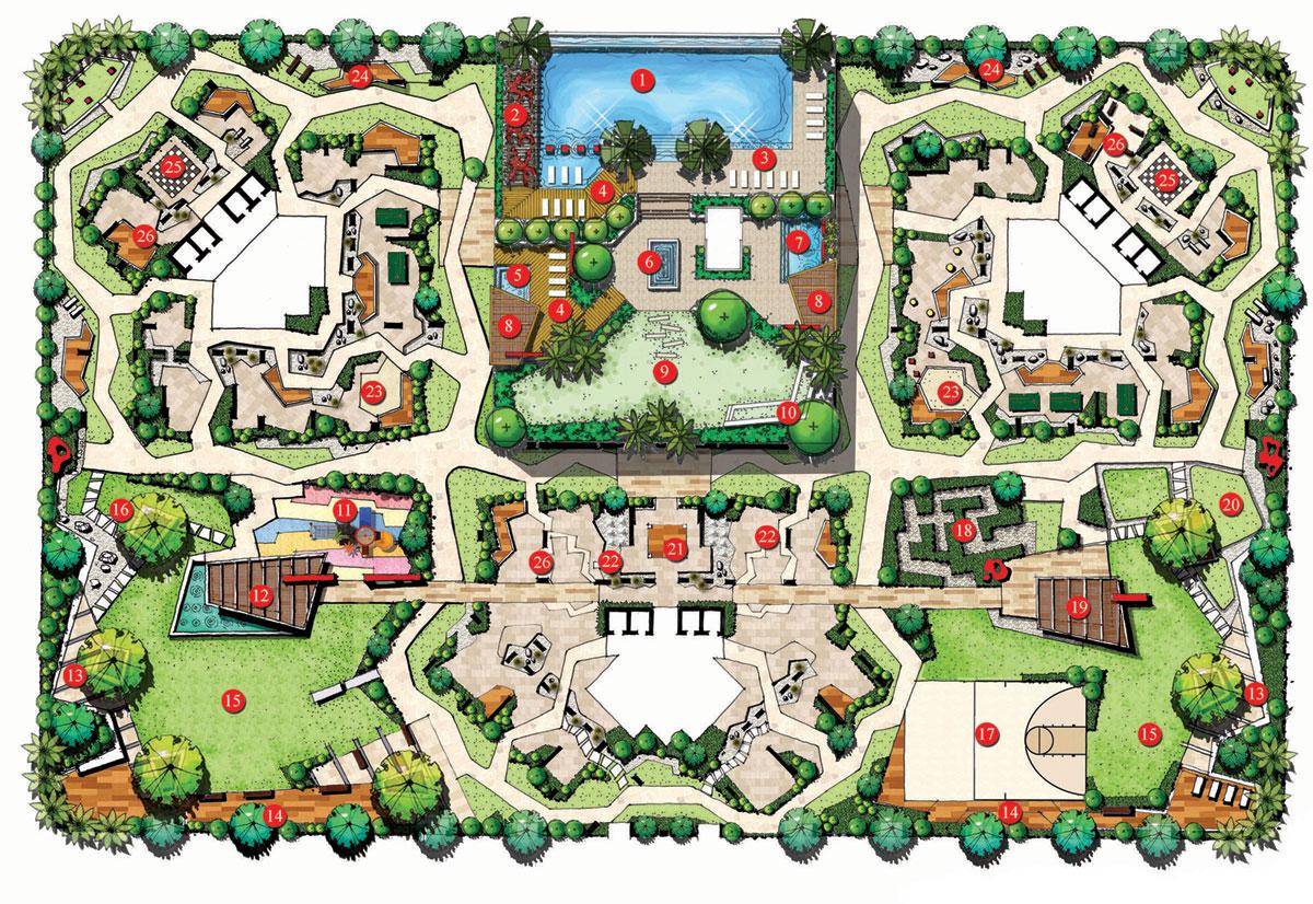 Modern Landscape Plan
