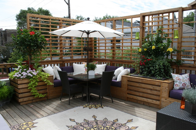 Modern Patio Decor