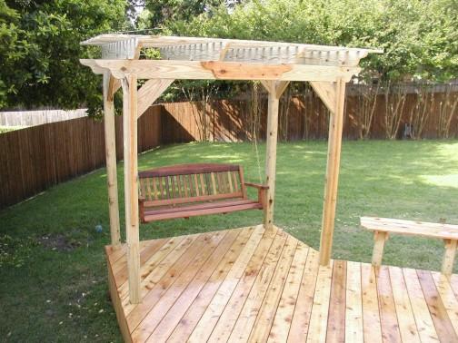 Modern Porch Swing