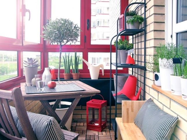 Modern Small Balcony Idea