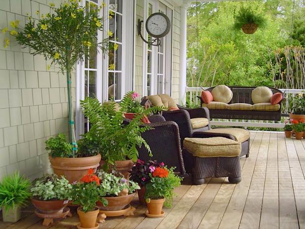 New Balcony Furniture Idea