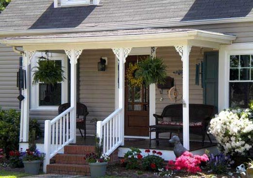 New Front Porch Decorating Idea