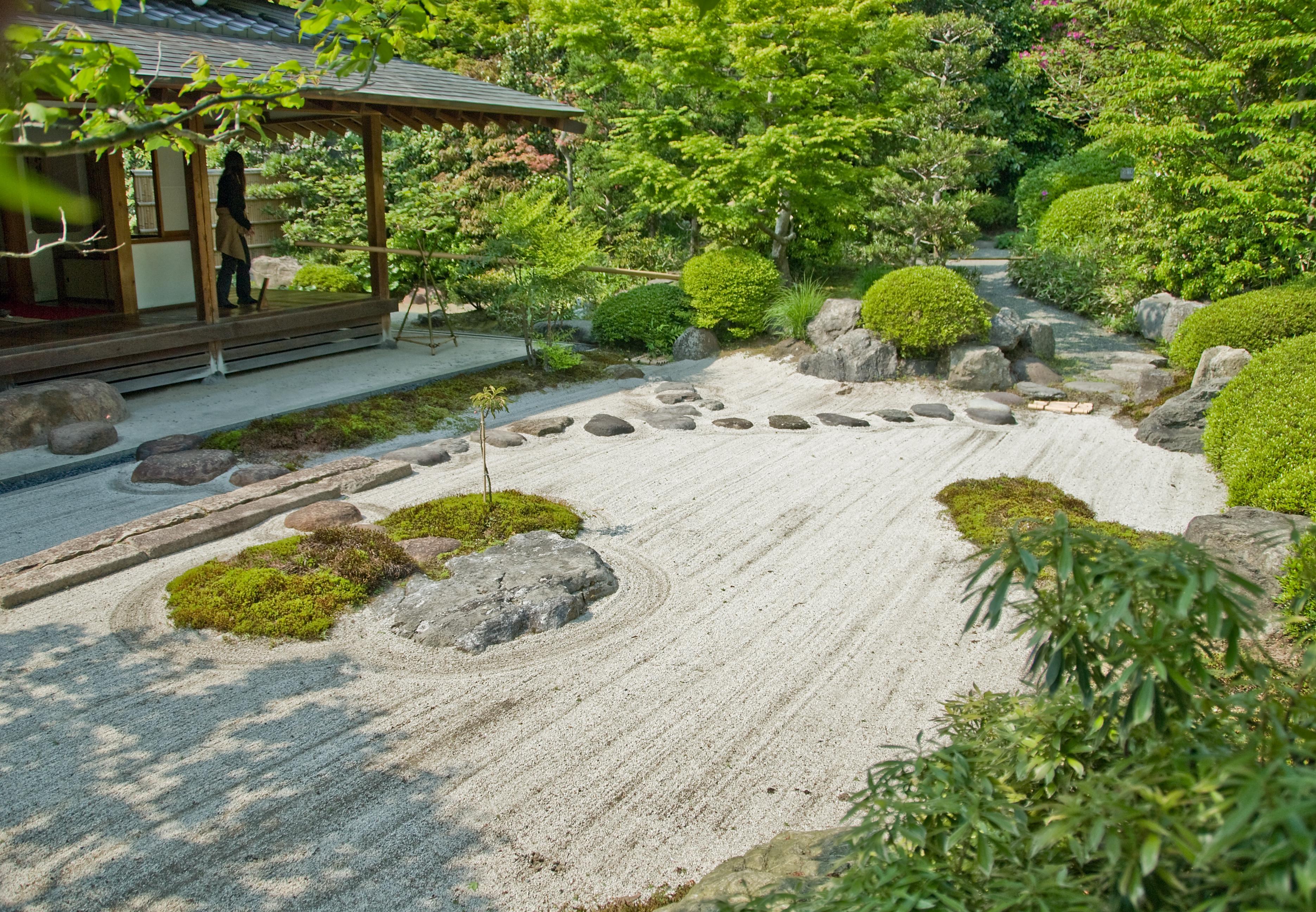 New Japanese Rock Garden