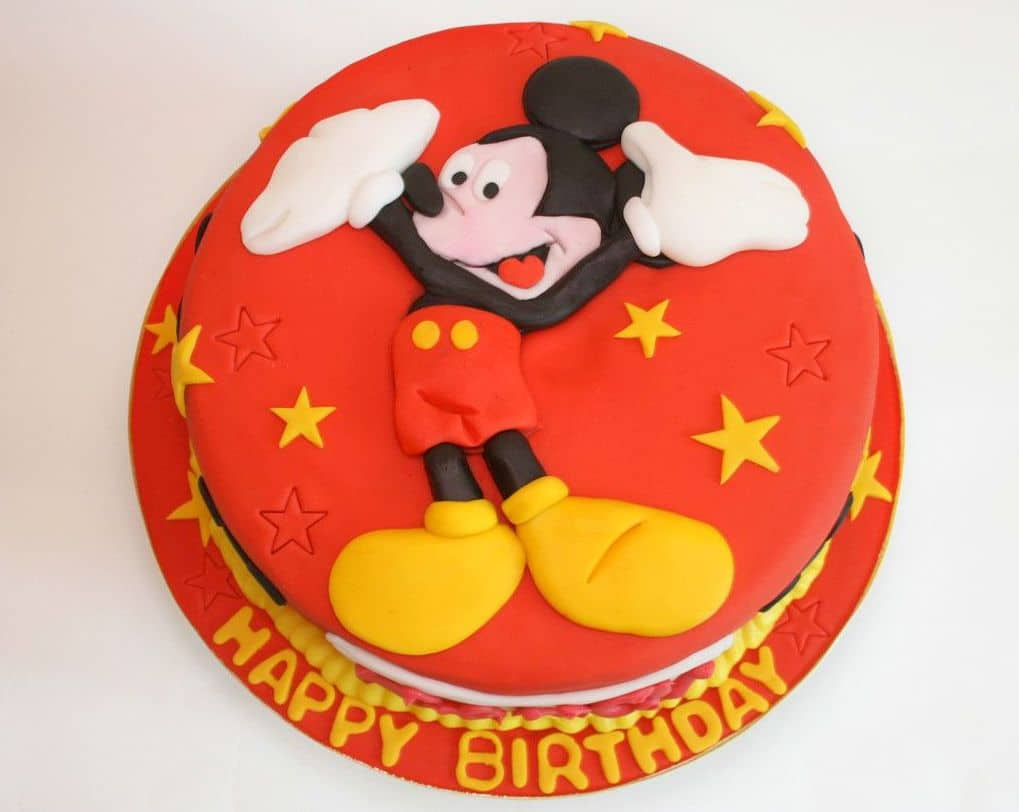 New Mickey Mouse Cake