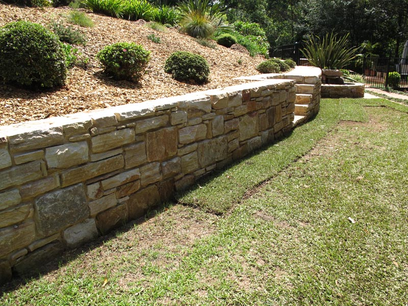New Retaining Wall Picture