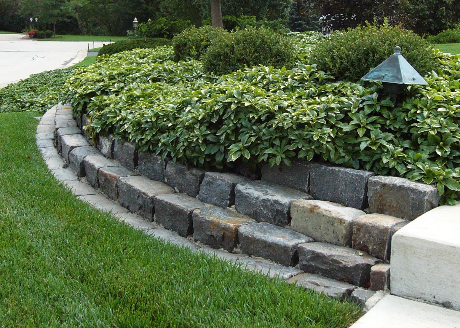 New landscaping Brick