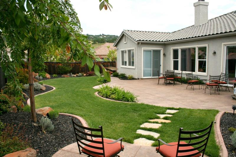 Online Backyard Landscaping Idea