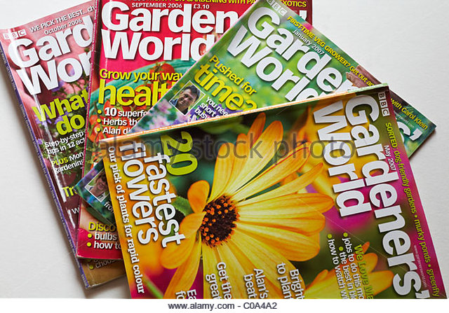Online Garden Magazine Idea