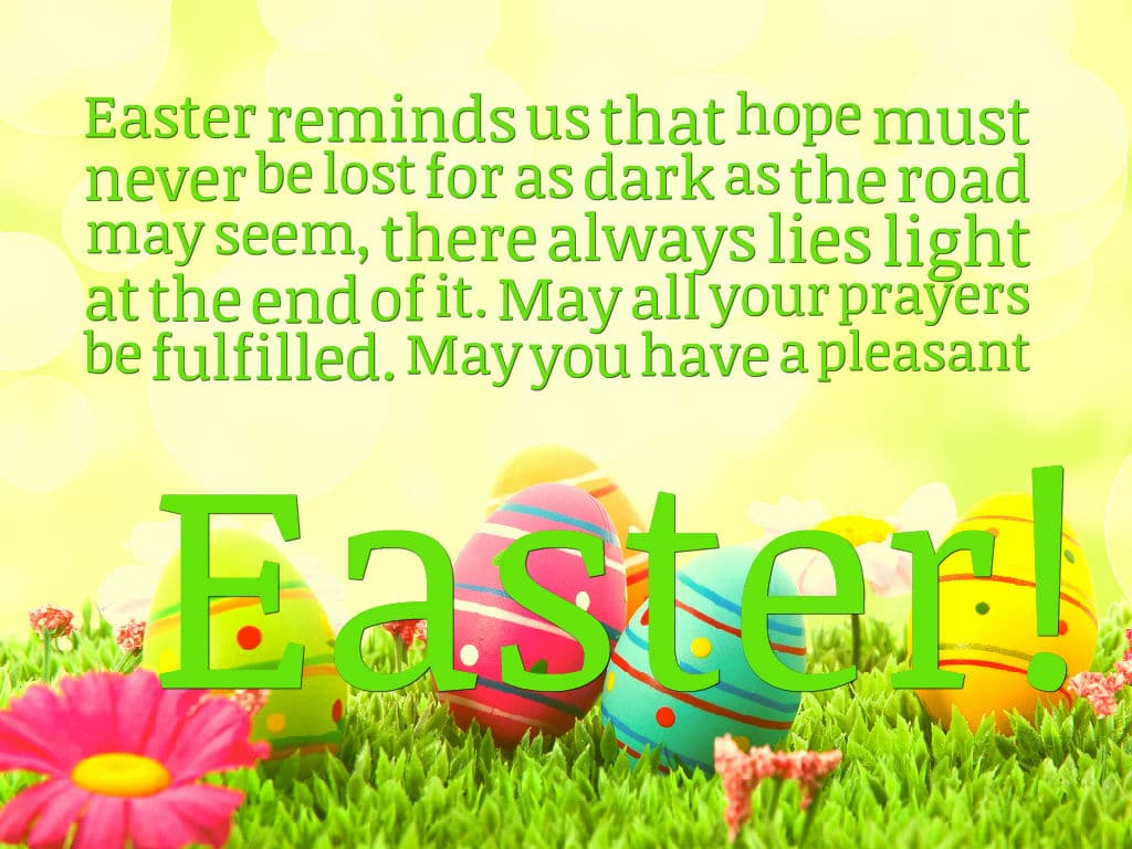 Online Happy Easter 2017 Message