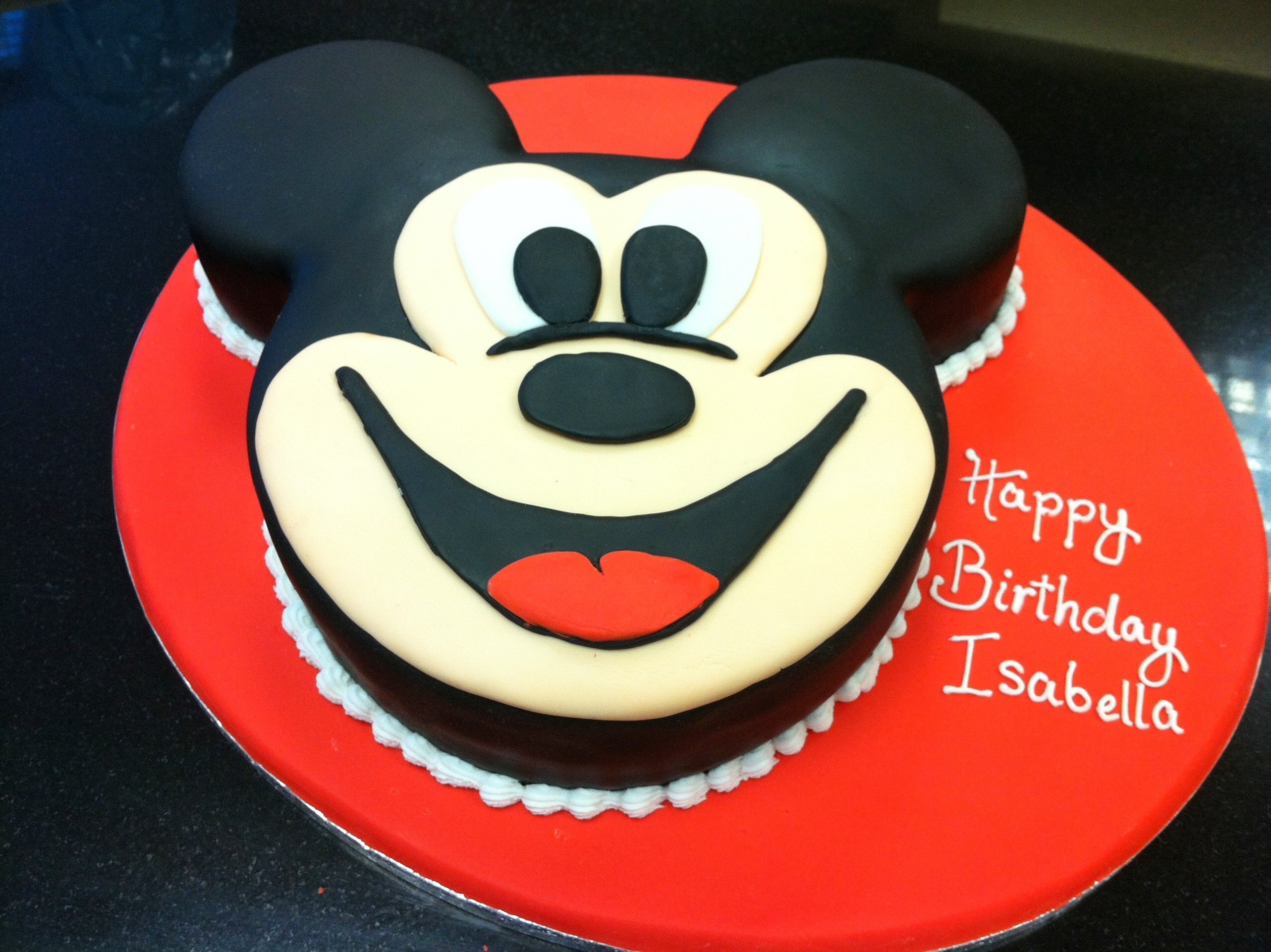 Online Mickey Mouse Cake