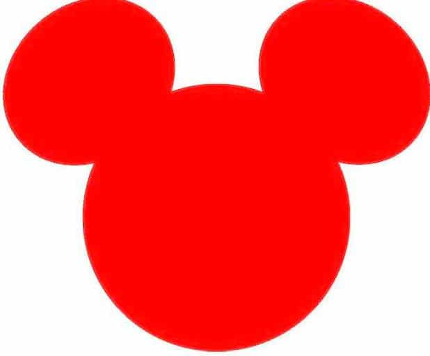 Online Mickey Mouse Ears Image
