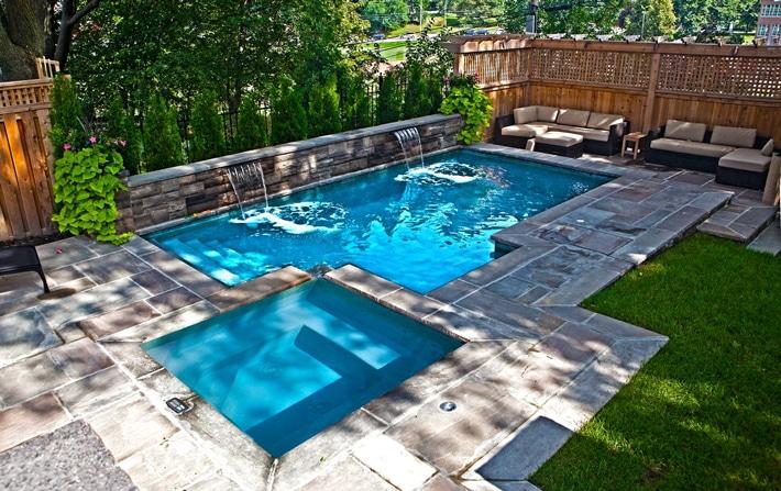 Online Small Backyard Pool Image