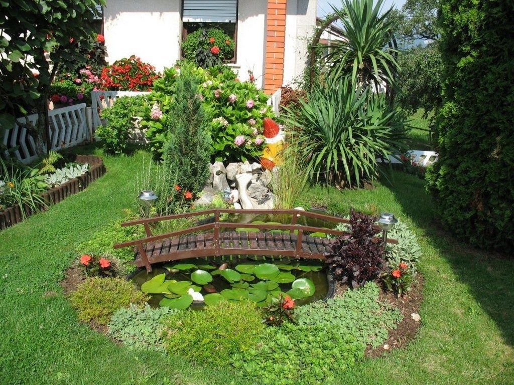 Outdoor Garden Decoration Idea