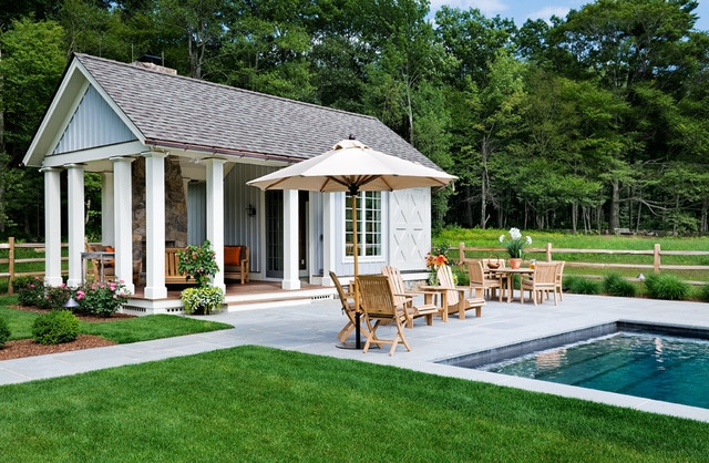 Pool House Design for free download