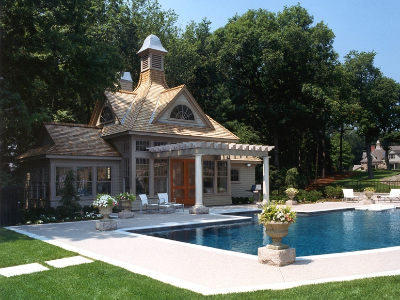 Pool House Design free download