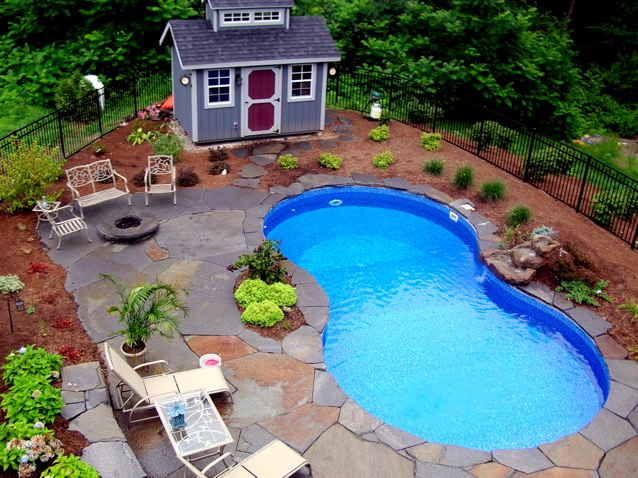 Pool landscaping Idea download