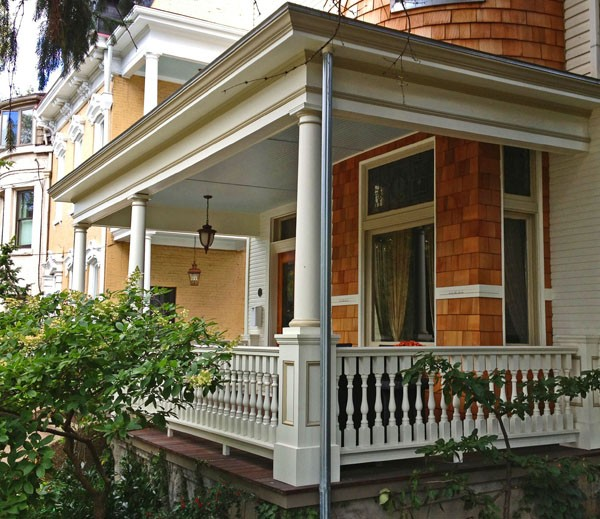 Porch Railing Idea