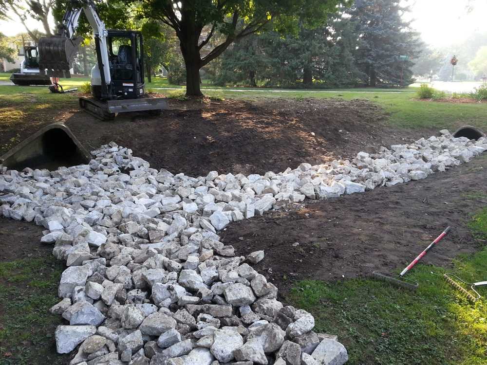 River Rock Landscaping Idea