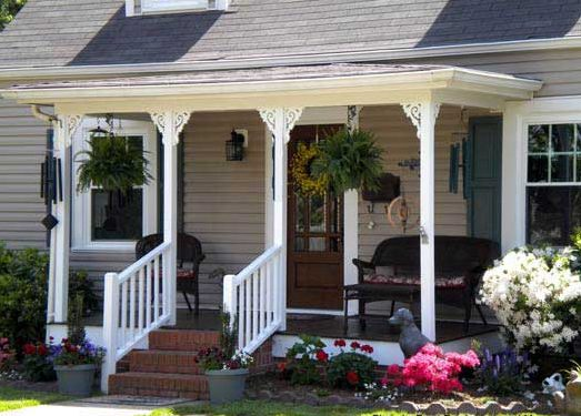 Save Back Porch Idea
