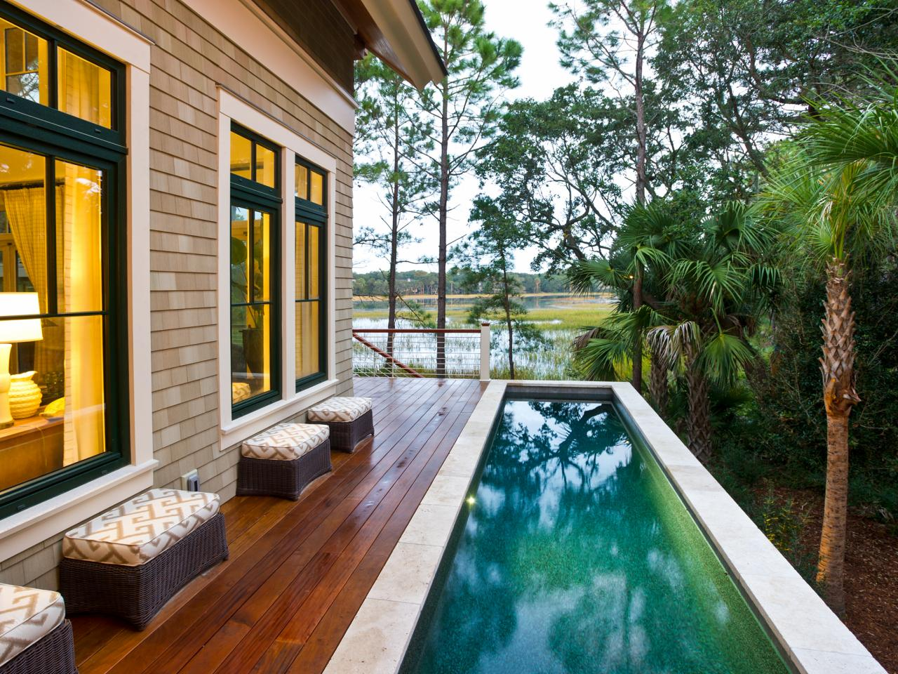 Save Backyard Pool Idea