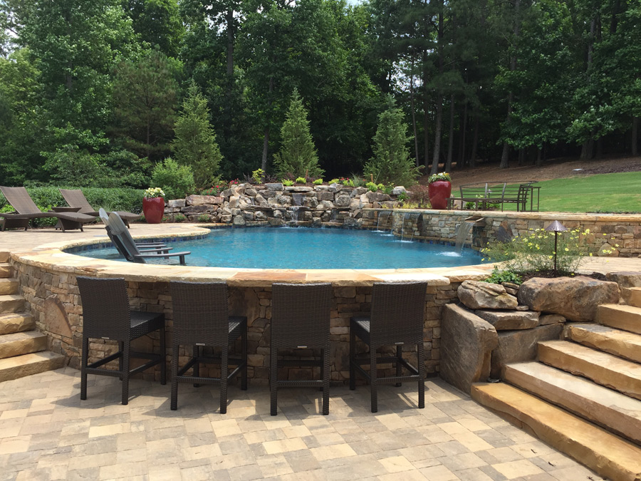 Save Custom Pool Design