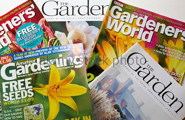 Save Garden Magazine Idea