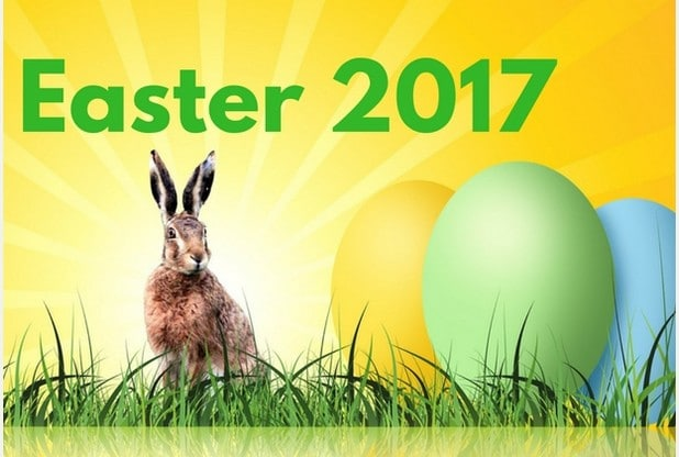 Happy Easter 2017 Greeting