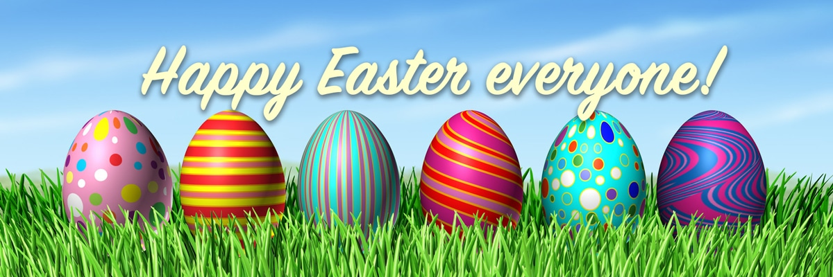 Save Happy Easter Wallpaper