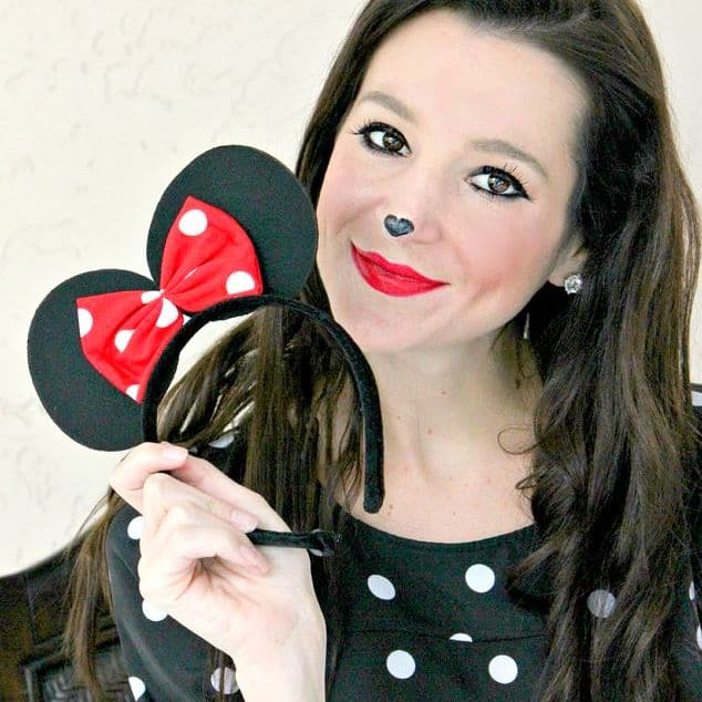 Save Minnie Mouse Makeup Image