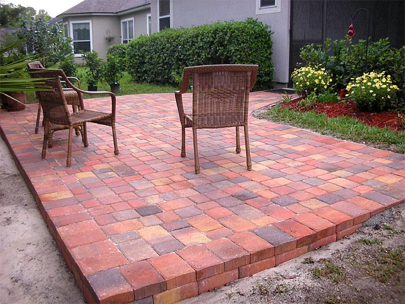 Save Patio Bricks Idea