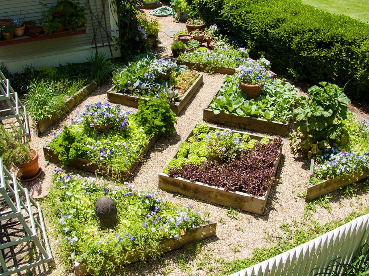 Save Vegetable Garden Idea