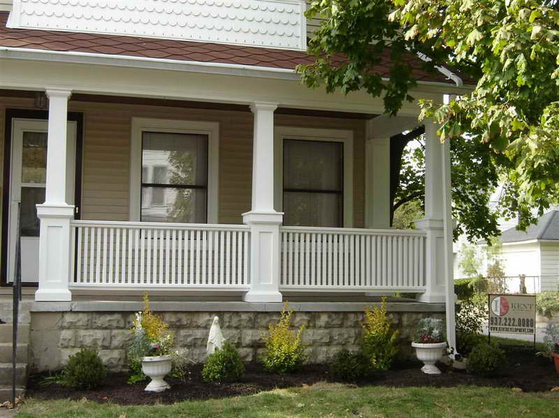 Simple Back porch Design