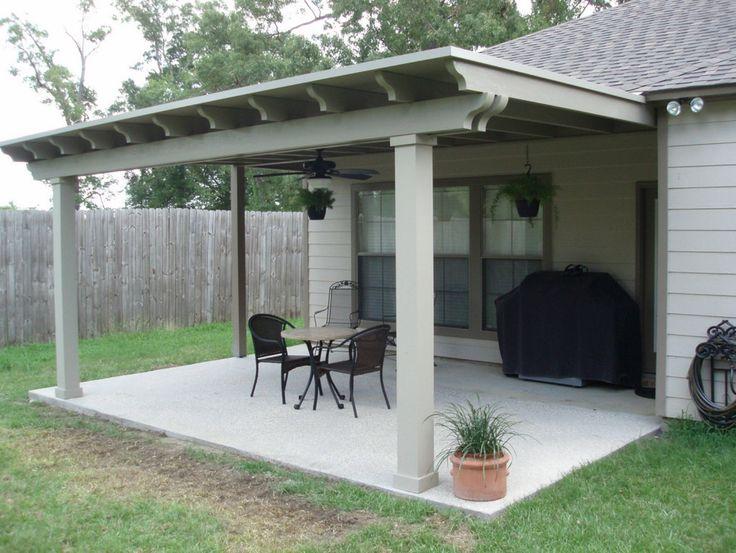 Simple Backyard Patio Idea