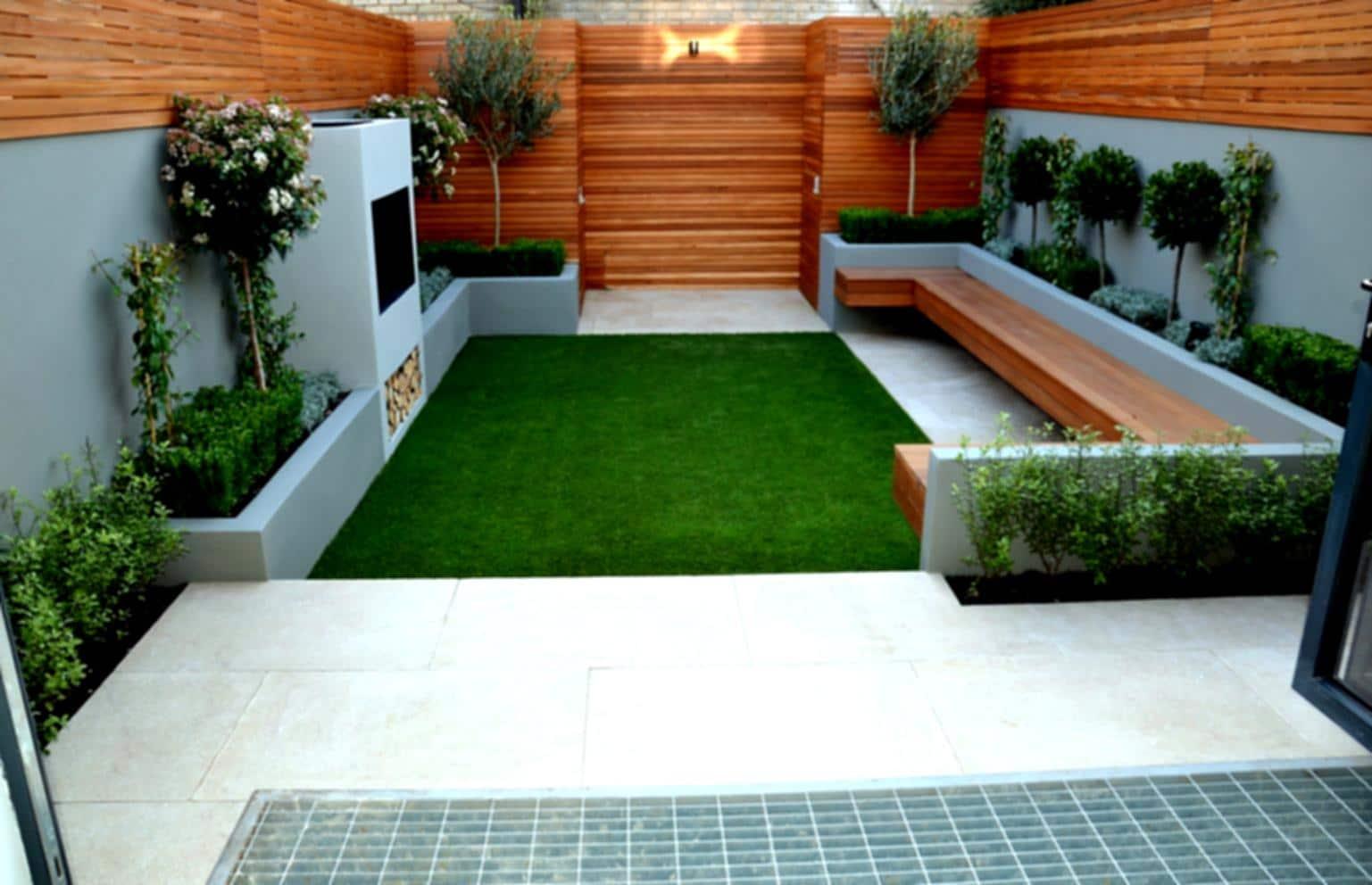 Simple Garden Design Plan