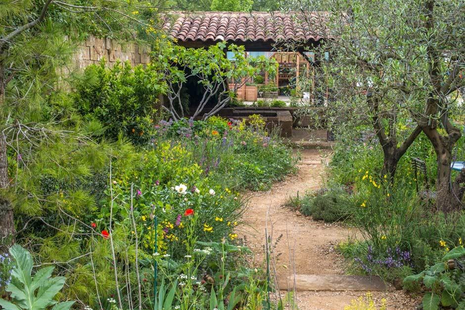 Simple Garden Path