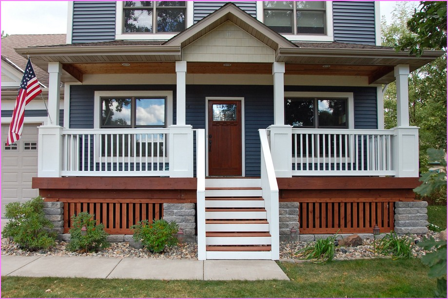 Simple Porch Railing