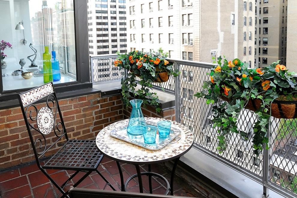 Simple Small Balcony Idea